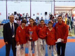 Buen nivel de los karatekas extremeños en el XII Trofeo Diputación de Cáceres