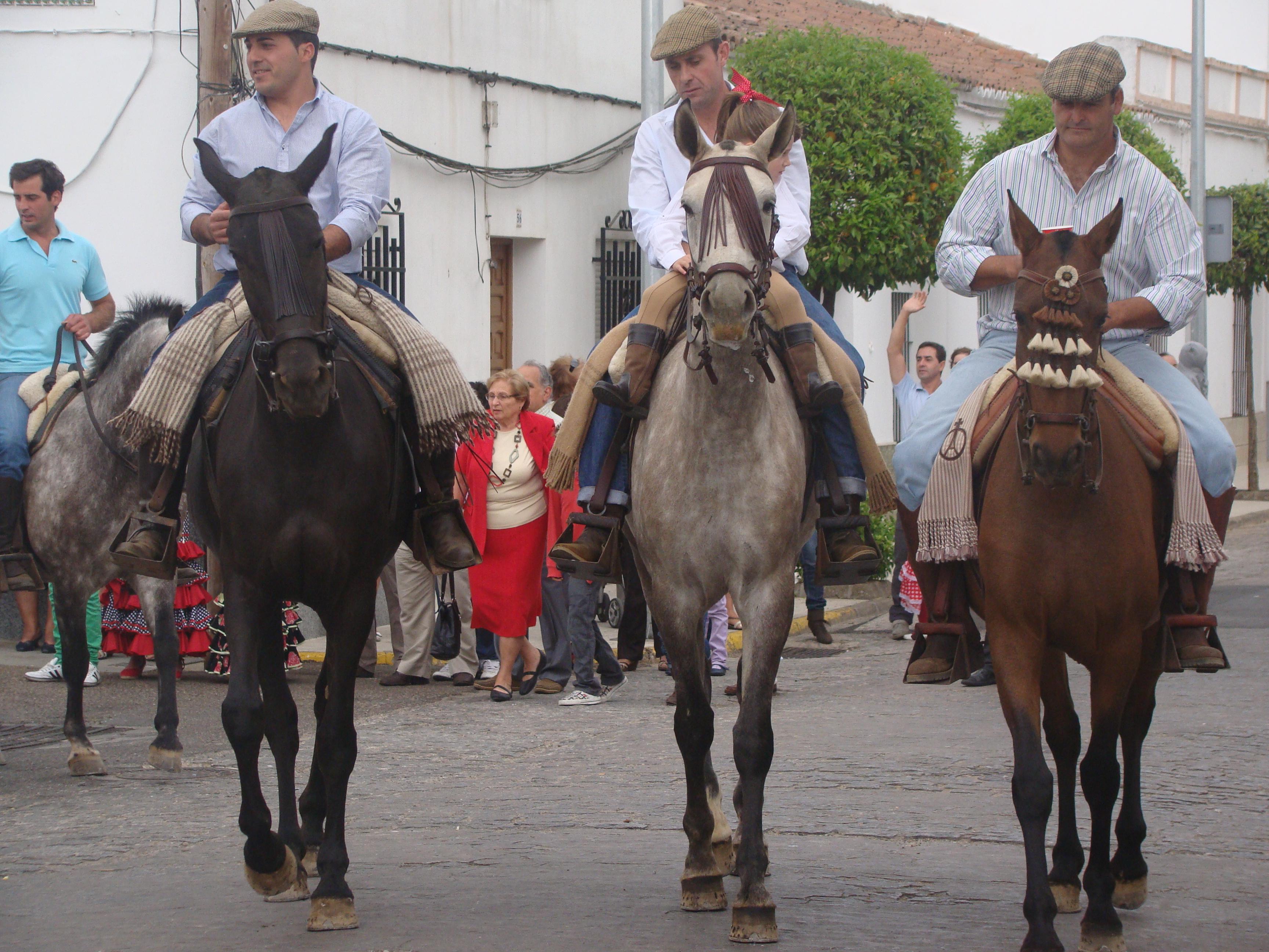Xviii paseo de caballo y recinto ferial - Muebles higuera la real ...
